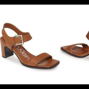 NWT Calvin Klein Darla Sandals